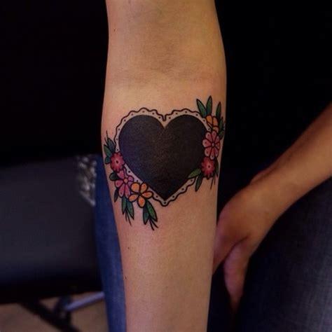 delightful heart tattoos designs   love