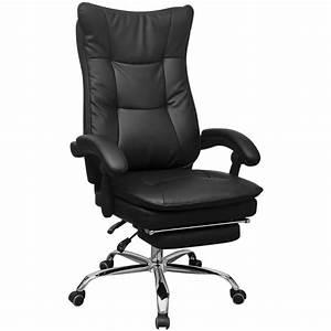 Chaise De Bureau Solde : acheter vidaxl chaise de bureau inclinable avec repose ~ Teatrodelosmanantiales.com Idées de Décoration