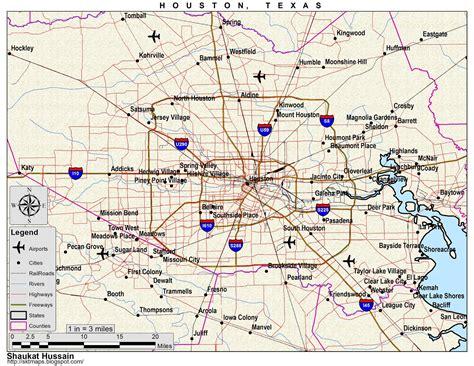 maps map  houston tx