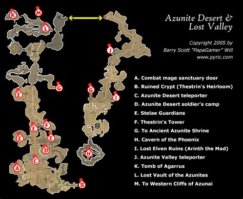 dungeon siege map dungeon siege ii azunite desert valley map png