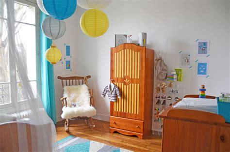 chambre jaune et bleu chambre bebe garcon orange chaios com
