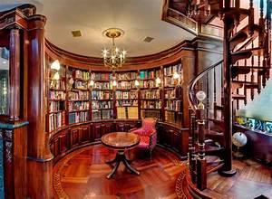 Building, A, Custom, Home, Library