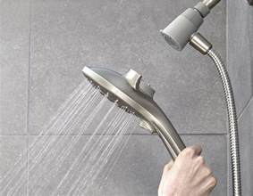 Delta Rain Shower Head Picture