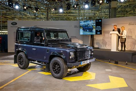 classic land rover 2016 the last classic land rover defender 34 egmcartech
