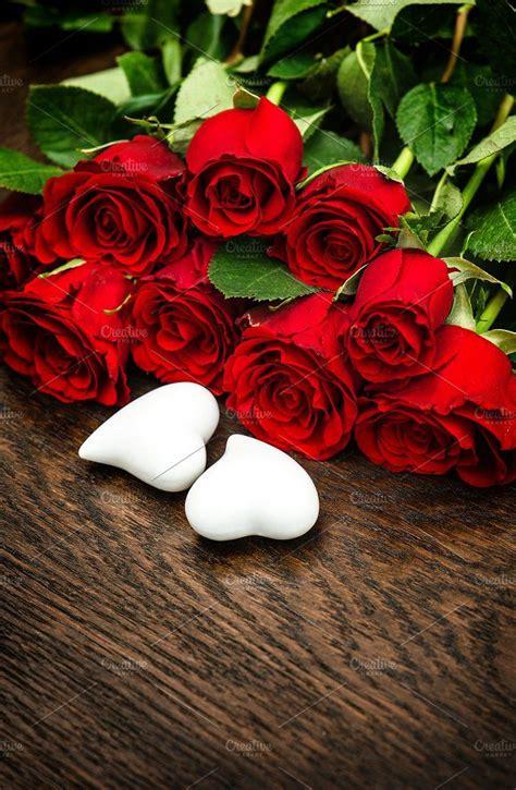 Heart Valentine's Day Rose