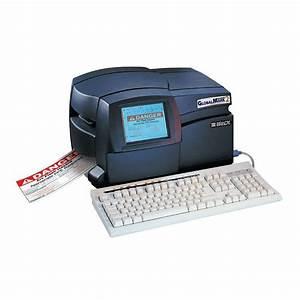 brady globalmark2 multicolor label maker printer 76800 With brand label maker