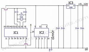 50hz 60hz Frequency Generator Circuit Using Crystal