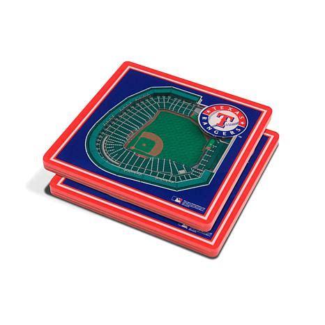 Officially Licensed MLB 3D StadiumViews Coaster Set ...