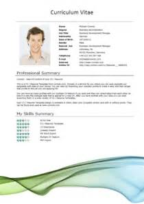 free modern resume templates with photo 50 free microsoft word resume templates for download
