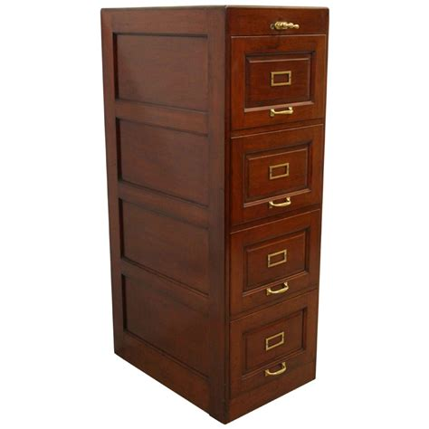 4 drawer mahogany filing cabinet mahogany filing cabinet 339961 sellingantiques co uk