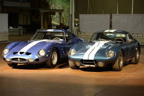 This is the real thing. Ferrari 250 GTO vs. Daytona Coupe   Daytona coupe, Shelby car, Ford mustang fastback