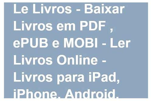 ebook baixar gratis para iphone 6