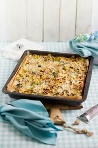 Lauch Kuchen vom Blech mit Speck & Käse Hase im Glück