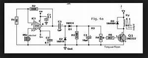 Wiring Schematic Diagram  Sound Activated Relay