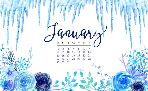 January Background January 2017 Calendar Tech Pretties Designs 174