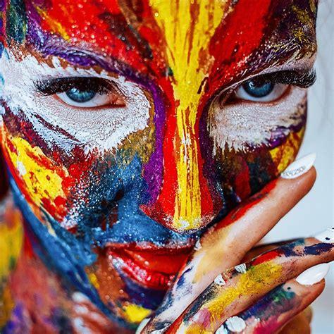 Kostenloses Bild auf Pixabay - Farbe, Make Up, Mädchen ...