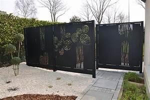 Claustra Beton Blanc : mur en claustra construction maison b ton arm ~ Melissatoandfro.com Idées de Décoration