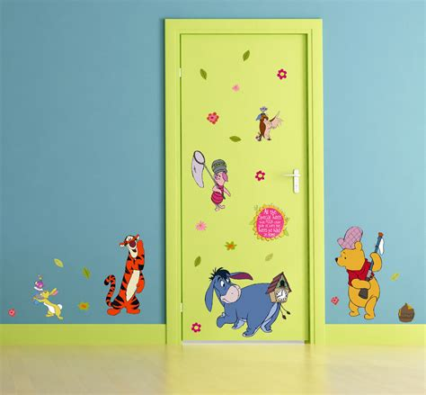 Wandtattoo Kinderzimmer Bordüre by Kinderzimmer Wandsticker 169 Disney Winnie Pooh Wandtattoos