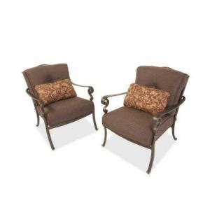 Pacific Bay Patio Chairs by Pacific Bay Outdoor Furniture Replacement Cushions