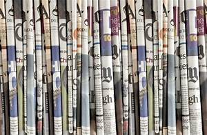Newspaper wallpaper I Daily News - Read all about it | Mr ...
