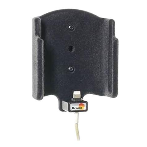 iphone x autohalterung iphone x xs brodit 514997 kfz halterung mit kabelbefestigung