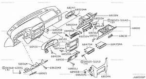 680 - Instrument Panel  Pad  U0026 Cluster Lid  U043d U0430 Patrol Y61 Nissan  U041f U0430 U0442 U0440 U043e U043b