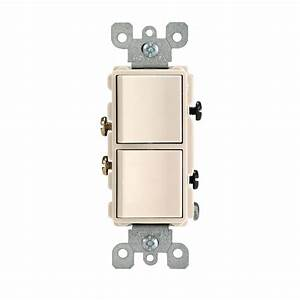 Leviton Decora 15 Amp Single