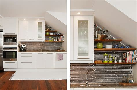 18+ Charming Kitchen Under Stairs