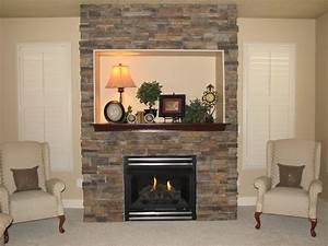 How, To, Build, A, Stone, Fireplace, Surround