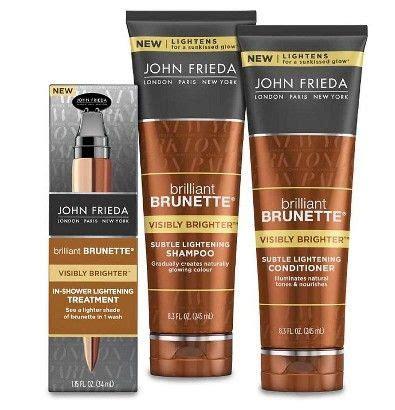 John Frieda Brilliant Brunette Visibly Brighter Lightening