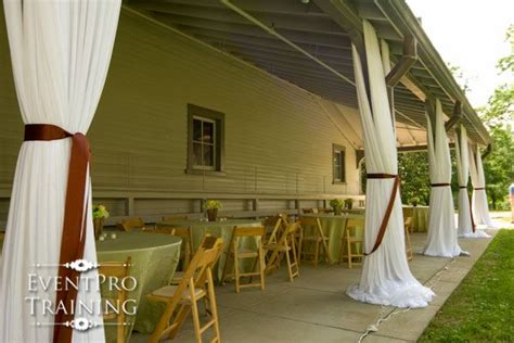 How Much Does Draping Cost For A Wedding - outdoor draping by event pro meade