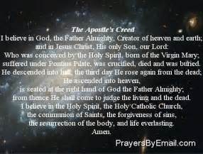I Believe in God Prayer