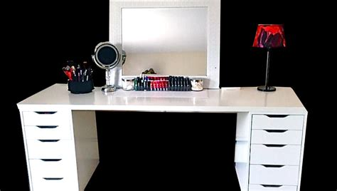 furniture makeup desk ikea   feminine appeal