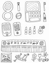 Coloring Makeup Pages Spa Olds Printable Themed Clipart Getcolorings Library Popular sketch template