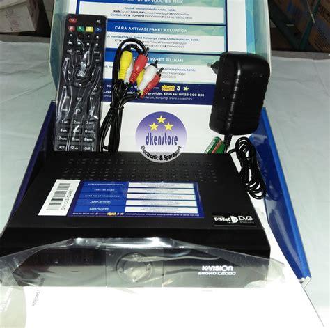 jual receiver decoder kvision c2000 bromo parabola c band di lapak dkenstore dkenstore