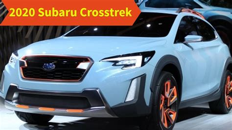 2020 Subaru Crosstrek by 2020 Subaru Crosstrek Redesign Release Date Price