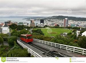 Wellington Cable Car, New Zealand Editorial Stock Image