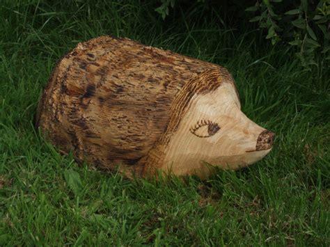 ornamental hedgehog garden sculpture buy wooden animals