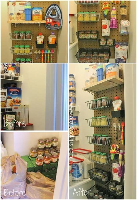 clever hanging pantry storage ideas