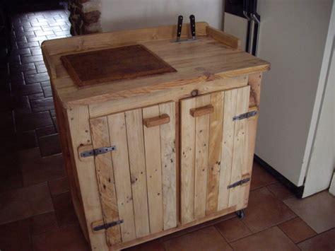table de cuisine en palette meuble cuisine palette bricolage maison et décoration