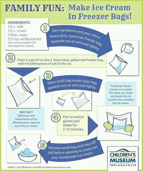 how to make icecream home made ice cream in a bag cool ideas pinterest bags salts and silk
