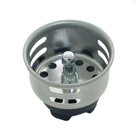 commercial sink strainer types update sstr 15 1 1 2 quot bar sink strainer stainless