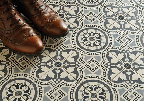 Hand Decorated Floor Tiles
