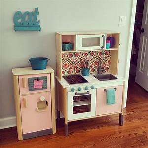 Ikea Duktig Rückwand : ikea duktig play kitchen hack viv 39 s bedroom pinterest plays kitchens and playrooms ~ Frokenaadalensverden.com Haus und Dekorationen