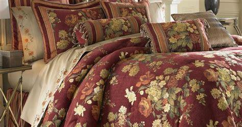 cotswold floral comforter set burgundy comforters