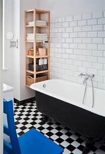 Wandregal Holz Design : kleines badezimmer retro design holz wandregal badewanne ideen rund ums haus pinterest ~ Sanjose-hotels-ca.com Haus und Dekorationen