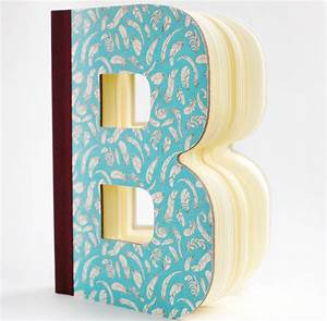 Letter shaped books by letteroom notonthehighstreetcom for The book the letter
