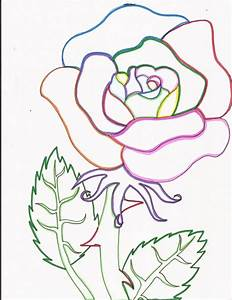 Rainbow Line Drawing At Getdrawings