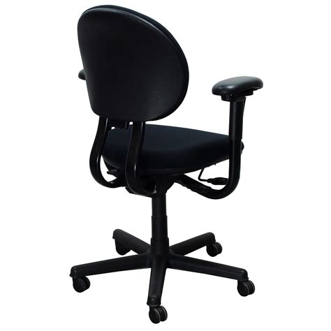 steelcase criterion used mid back series task chair black