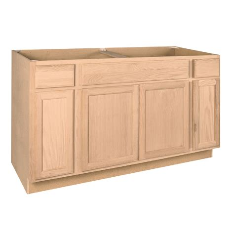 60 inch kitchen sink cabinet shop project source 60 in w x 34 5 in h x 24 in d